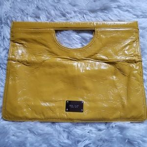 Women's Nine West Patent Leather Hand Bag/Clutche